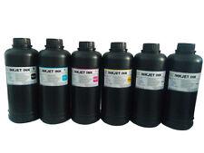 6x500ml Premium Led UV Curable ink for Epson DX5 DX7 Print head printer