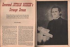 Reverend Jotham Meeker's Strange Dream+Mays,Reverend George Jenkins,Lykins