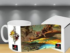 La leggenda di Dragoon ps1-Tazza da caffè Cup-Gifts-RPG-Anime JRPG-Gaming