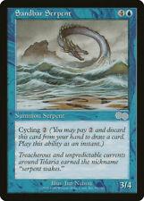 Magic MTG Tradingcard Urza's Saga 1998 Sandbar Serpent 95/350