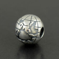 Authentic Pandora Globe Sterling Silver Clip 791182