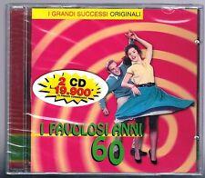 FLASHBACK I FAVOLOSI ANNI 60 I GRANDI SUCCESSI ORIGINALI 2 CD  F.C. SIGILLATO!!!