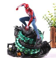 MARVEL AVENGERS Spider- Man homecoming figura diorama 18 cm Spiderman collectors