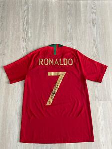 Orig. signiertes Cristiano Ronaldo Trikot Gr.M Nike Portugal Vapor Match Shirt