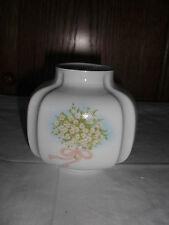 ROYAL Porzellan Bavaria KPM  kleine Vase mit  Blumenmotiv Handarbeit  II.Wahl