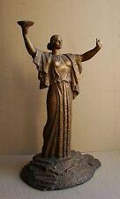 Ukrainian Russian Soviet Statue sculpture motherland socialist realism rare