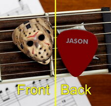 Set of 3 Jason Voorhees Mask Friday the 13th premium Promo Guitar Pick Pic