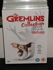 The Gremlins Collection - Gremlins / Gremlins 2 The New Batch (DVD) PAL FORMAT!