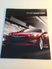 2013 Nissan Genesis Coupe 20-page Original Sales Brochure