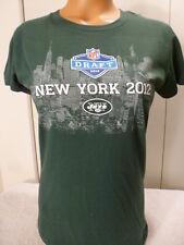 "6822 Womens NEW YORK JETS ""2012 DRAFT"" Football Jersey Shirt GREEN MED BLOWOUT"