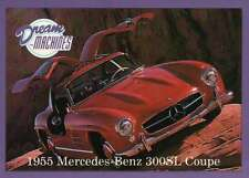 1955 Mercedes Benz 300SL Coupe, Imperial Palace LV Car Trading Card Not Postcard