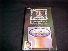 Gallery Glass Inlay Video VHS Introduction To Stained Glass Inlay by Vicki Payne