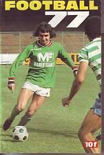 LES CAHIERS DE L'EQUIPE FOOTBALL 1977 LES EQUIPES DE D1 ET D2 EN PHOTOS