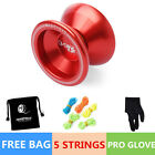 Magic 1Bag YOYO Ball T5 Overlord Aluminum Alloy Kids Toys Gift Red 5 String IJI