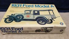 Vintage Entex 1931 Ford Model A Truck Plastic Model Kit 1:16 Scale Boxed Sealed
