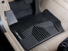 BMW OEM Black All Weather Floor Liners 2007-2013 X5 & X6 FRONT ONLY 82112211584