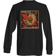 "Radio KSG - ""Could Perhaps"" Single Cover Long Sleeve Black T-Shirt"