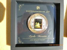 20 Silber-Dollar Münze Carlo Maratta Heilige Nacht