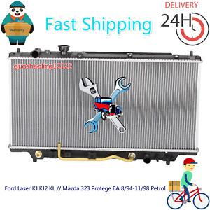 Radiator Ford Laser KJ KJ2 KL // Mazda 323 Protege BA 8/94-11/98 Petrol Auto/Man