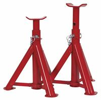 Sealey AS2000F Axle Stands 2tonne Capacity per Stand 4tonne per Pair TUV/GS Fold