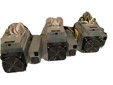 3 X Bitmain Antminer T9+ 10.5 TH/s And 1 S7, With 3 Bitmain PSUs, Not S9, S17