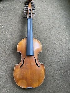 Viola  D'Amore, Labeled Bohuslav Lantner Prague 1928