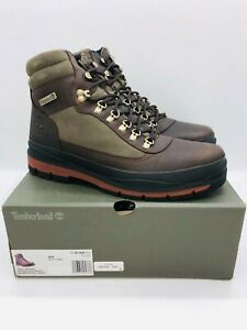 Timberland Men's Field Trekker Waterproof Insulated Boot Dark Brown Leather