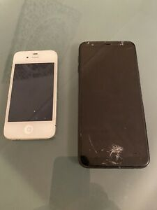 Apple iPhone 4 And Samsung Phone. Spares Or Repairs