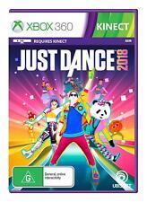 Just Dance 2018 Music Dancing Game 40 Songs Microsoft XBOX 360 Lady Gaga Beyonce