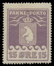 GREENLAND #Q5 (P8II) 15ore Pakke Porto, 2nd printing, thick carton, og, LH, VF