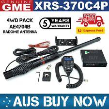FAST GME XRS-370C4P 4WD PACK + BLACK AE4704B RADOME ANTENNA UHF CB RADIO 370C