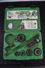 "GREENLEE 7238SB Slug Buster 1/2'' thru 2"" Ratcheting Knockout Punch Kit AGOW"