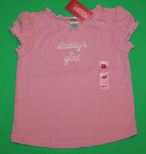 2t Nwt Gymboree Summer Safari Pink Daddy's Girl Shirt Top Girls Htf