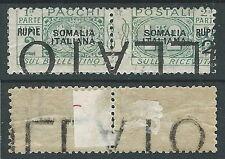 1923 SOMALIA PACCHI POSTALI 2 R DEMONETIZZATO MH * - D6