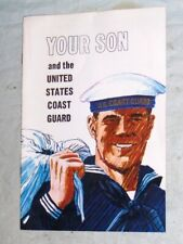 Vintage 1970 Vietnam War Era Your Son and the United States Coast Guard Brochure