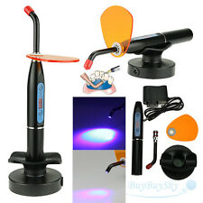 New Dental 10W Wireless Cordless LED Curing Light Lamp 2000mw black USA Ship