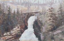 Argenta Falls Colorado,Studie,Impressionist,Amerika,signiert
