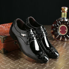 fa8abb27081 Men s Leather Shoes Pointy Toe Carved Business Formal Wedding Dress Lace Up