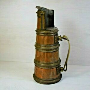 Antique Mongolian Buddhist Hand-made Kettle Teapot for Milk and Tea
