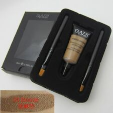 Brown Waterproof Tint Eyebrow Henna With 2pc Mascara Eyebrows Paint Brush Beauty 5# Blonde