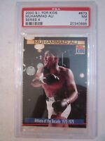 2000 MUHAMMAD ALI - S.I. FOR KIDS BOXING CARD #873- PSA GRADED 7 NM - BBA-8