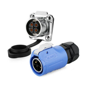 Waterproof M20 Aviation Connector Adapter 4 Pin Quick Electrical Quick Connect
