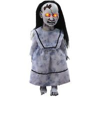 Halloween Animated SCARY LITTLE LUNGING GRAVEYARD BABY DOLLY Prop Haunted House