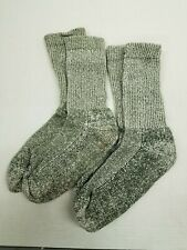 2 Pair of Cotton Mens Socks Size 9-12 Hiking Camping