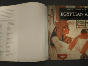 Life and Works Series:Great Works of Egyptian Art by Elizabeth Longley 1996