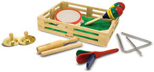 Melissa & Doug Band In A Box Baby/Toddler/Child Musical Instruments BNIP