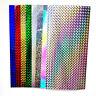 10 Pcs Fishing Stickers Rainbow 3D Holographic Adhesive Film Flash Tape DIY