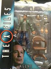 El agente Fox Mulder X Files Edicion Coleccionista figura Set
