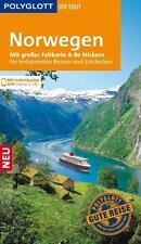 POLYGLOTT, Reiseführer Norwegen 2016/17 + Landkarte, wie neu, UNGELESEN