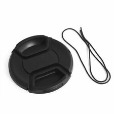 49mm Camera Snap-on Front Lens Cap Cover For Canon Nikon Fuji Sony with String.
